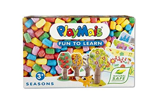 PlayMais 160371 - PlayMais FUN TO LEARN Seasons, Bastelset