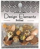 Jesse James Kunststoff Design Elements Beads 28g-bellini