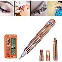 Máquina de la pluma permanente del tatuaje del maquillaje del lápiz, los ojos, lo labio y la ceja con 2 agujas, versión mejorada