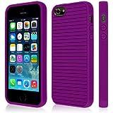 Empire gruve Coque en TPU pour Apple iPhone 5/5S–Violet