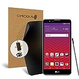 Celicious Privacy Plus LG Stylo 2 [Quadruple Filtre de confidentialité] Protection d'écran