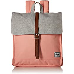 Mochila Herschel Supply City Backpack Mid Peach Grey