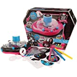 Canal Toys MHC 005 Monster High - Máquina para hacer chapas, color negro