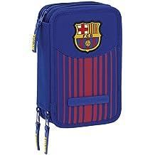 Futbol Club Barcelona - Plumier triple 41 piezas (Safta 411729057)