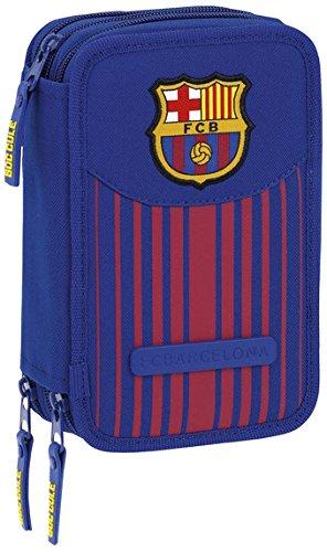 Safta Estuche F.C. Barcelona 17/18 Oficial 41 Útiles Incluidos 210x60x105mm