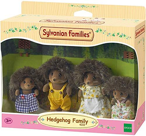 Sylvanian Families 4018 - Hedgehog Family Mini muñecas y Accesorios, Multicolor, 20.1 x 15.0 x 5.6