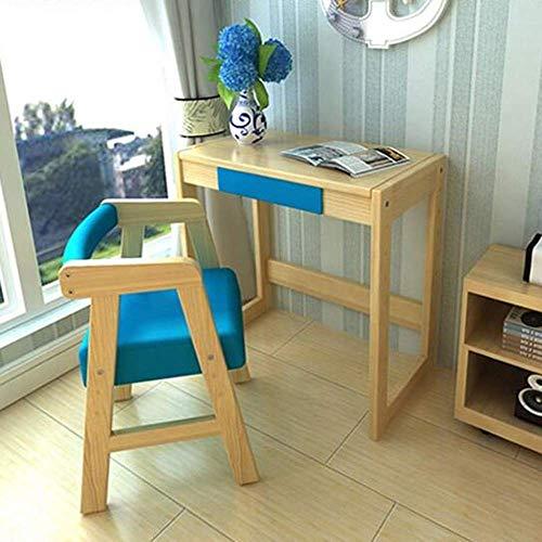 WGG Mesa ajustable en altura Escritorio para niños con silla Escritorio ergonómico...