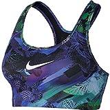 Nike Damen Pro Classic Swosh Hydra Sport-BH Paramount Blue/Black/White M