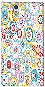 Timpax protective Armor Hard Bumper Back Case Cover. Multicolor printed on 3 Dimensional case with latest & finest graphic design art. Compatible with only Sony L36H - Sony 36. Design No :TDZ-21476