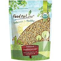 Food To Live Cebada perlada Bio certificada (Eco, Ecológico, kosher, germinación,