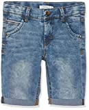 Name IT NOS Jungen Shorts NKMTHEO DNMTIMON 2164 Long NOOS,  Blau (Medium Blue Denim), (Herstellergröße: 164)