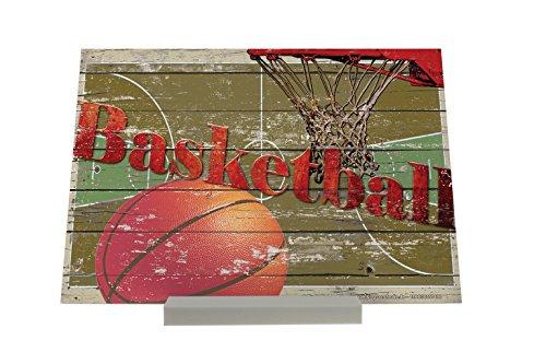 Cadre Photo Retro Déco Panier de basket Publicité Piastra