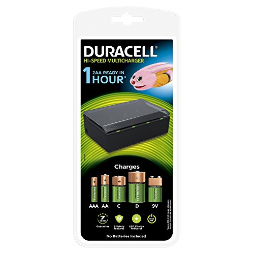 Duracell Chargeur Multi Piles Rechargeables 1...