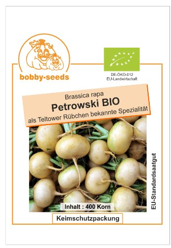 Bobby-Seeds BIO-Rübensamen Petrowski Portion