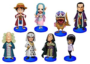 One Piece World Collectible (WCF) Vol. 15 Figuren: Komplett-Set (8 Figuren)