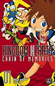 Kingdom Hearts Chain of Memories Edition simple Tome 1