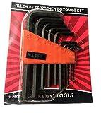 Ketsy 953 Allen key Wrench (Hexagon) Set 10 Pcs - Best Reviews Guide