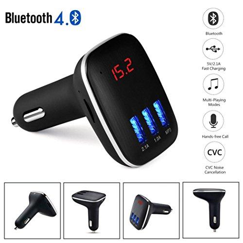 HKFV Car Kit Freisprecheinrichtung LCD MP3-Player Radio FM-Transmitter Drahtlose Bluetooth USB/SD Auto - Radio Machen Kit