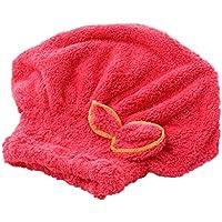 Turbante para el cabello, toalla absorbente, sombrero para el cabello secado rápidamente