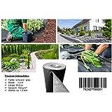 150 G/m² premium toile anti-mauvaises herbes et tapis, les mauvaises herbes (feuille 25 m x 1 m)