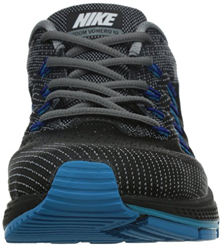 Nike Air Zoom Vomero 10, Chaussures de Sport Homme Jaune (Cool Grey/Blanc-Noir-Bleue Lagoon)