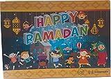 Ramadan Kalender mit Schokolade für Kinder / Fast Calender with chocolate