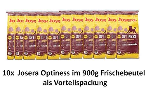 Josera Hundefutter Optiness | 10x 900g Hundetrockenfutter