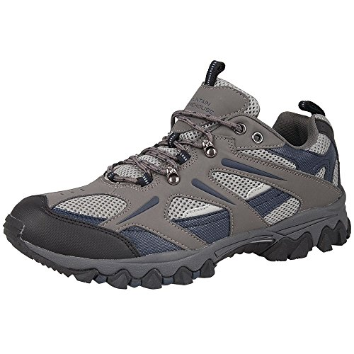 Mountain Warehouse Jungle Mens Walking Hiking Breathable Lightweight Everyday Sporty Shoes Outdoor Blue 10 UK