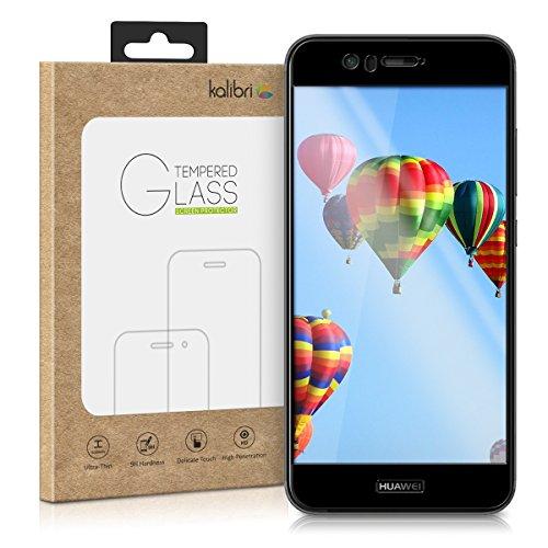 kalibri Huawei Nova 2 Folie - 3D Glas Handy Schutzfolie für Huawei Nova 2 - Auch für gewölbtes Bildschirm