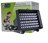 INSTAR IN-905 V2 100644 Infrarotscheinwerfer mit automatischem Helligkeitssensor und 60 IR-LED (10 Watt) schwarz