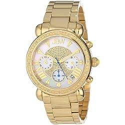 "Just Bling Ladies JB-6210-A ""Bronx Gold"" Diamond Watch"