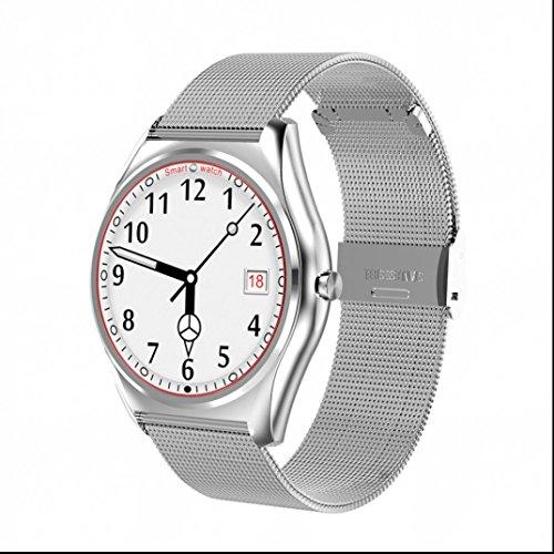 Smartband Smartwatch Sport Intelligente Uhr,Schrittzähler,Schlaf-Monitor,Aktivitätstracker,Anrufen/SMS,finden Telefon Sport Watch für iPhone IOS und Android Smartphones