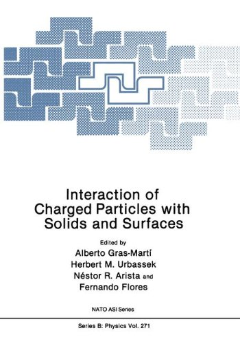 Interaction of Charged Particles with Solids and Surfaces (Nato Science Series B:, Band 271) -