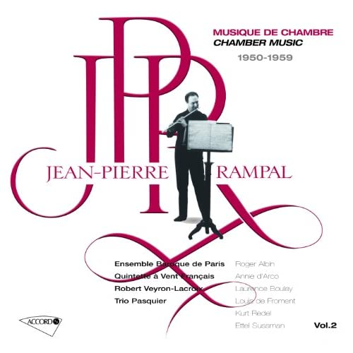 Roussel: Andante and Scherzo, for Flute and Piano, Op. 51 - Andante