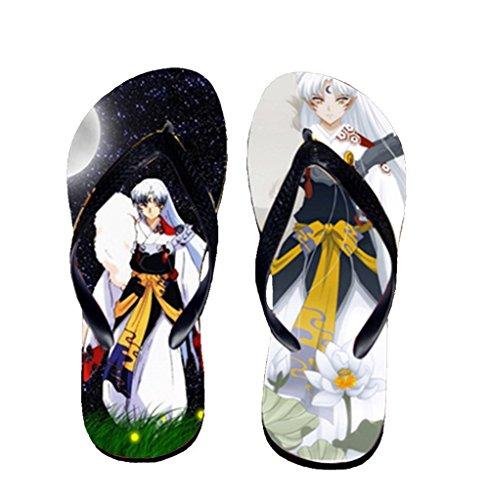 Bromeo Inuyasha Anime Unisexe Flip Flops Tongs 611