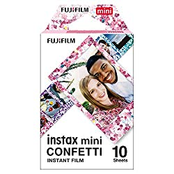 Fujifilm instax Mini Confetti Glass Film, Bunt metallic