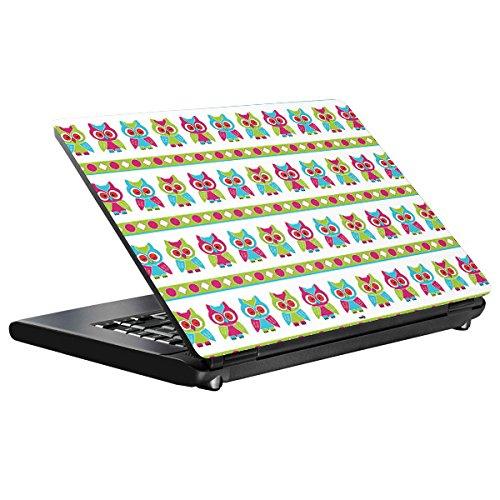 Preisvergleich Produktbild YOUNiiK Styling Skin Notebook Designfolie für Medion Akoya E7424 - Eulen - auch passend für Medion Akoya MD60150