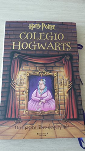 Harry potter colegio hogwarts desplegable