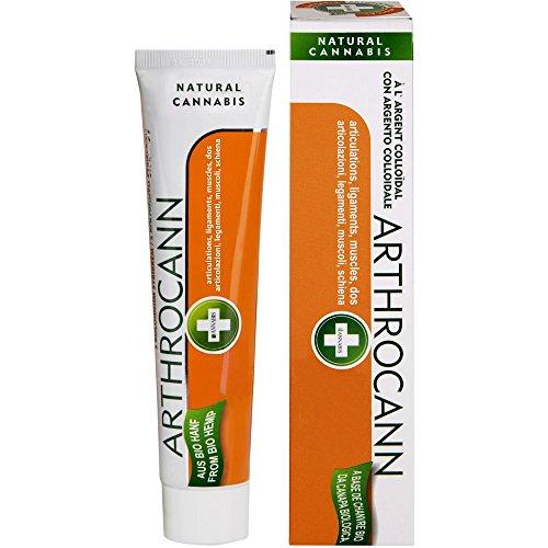 Annabis ARTHROCANN GEL zur Massage der Haut im Bereich der Gelenke, Muskeln, Sehnen und Rücken, 75ml