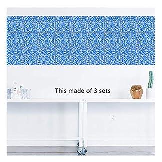 APSOONSELL – Adhesivo decorativo para pared con mosaico de mármol impermeable, diseño de azulejos de cocina (8×8″-10pcs), 1d, 8 * 8inches|20cm*20cm