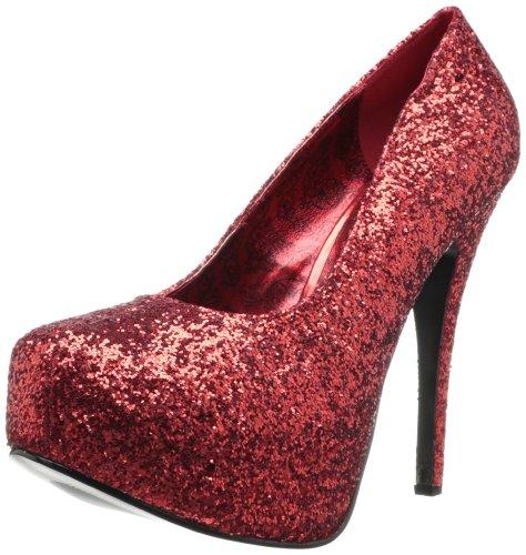 Bordello teeze-06gw Red Glitter