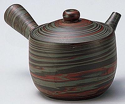 Yamakiikai Japonais Tokoname Céramique Kyusu?Théière Pigmentation Masse 210 CC avec Passoire Intégré FY1945 du Japon