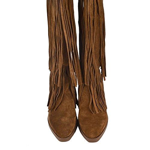 Ash Scarpe Gipsy TER Russet Stivali di Camoscio Russet Donna Russet