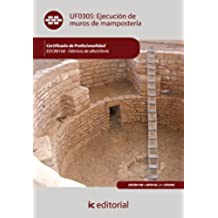 Ejecución de muros de mampostería. eocb0108 - fábricas de albañilería