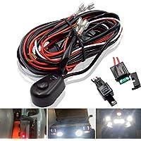 Safego Cableado del Barra de luces del LED Trabajo Interruptor Encendido-Apagado