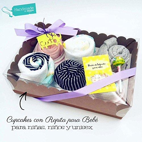 caja-de-seis-cupcakes-hechos-con-body-gorritos-calcetines-toallitas-reusables-y-panales-dodot-todo-e