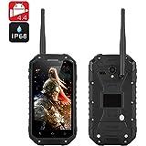 Warrior Phone Plus - Smartphone Android IP68 / CPU 1.7GHz / 2Go de RAM / Écran 4.7 pouces 720p / Talkie Walkie / NFC / GPS / Noir
