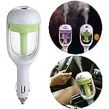 humidificateur d'air de voiture, Yilan (Mini Portable Voyage Cool Mist humidificateur d'air de voiture et d'aromathérapie Diffuseur d'huiles essentielles