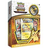 Pokemon Shining Legends Pikachu Pin Collection Trading Card Game