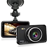 "ARAS FHD 1080P 3.0"" Car Camera Dash Cam with Motion Detection Parking Wake Night Vision WDR G-Sensor and Loop Recording"